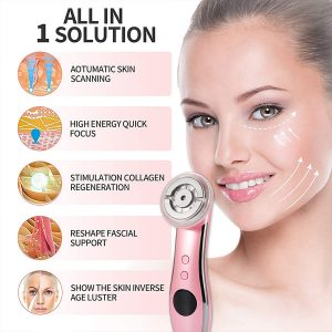 XQW-BD002 5 in 1 multi-function beauty device functions